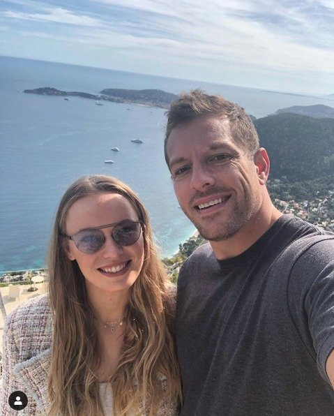 La feliz pareja. / Instagram