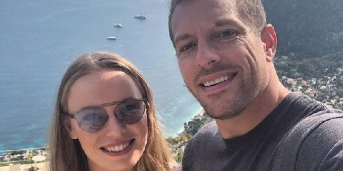 Tenista Caroline Wozniacki se casa con ex NBA David Lee