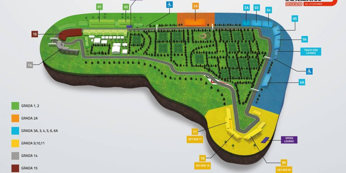 Abren nueva grada para el Gran Premio de México de F1