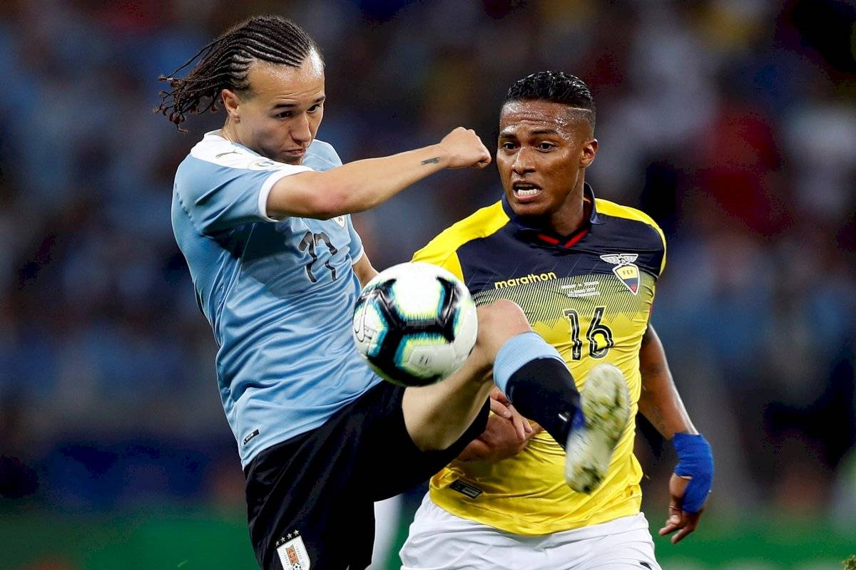 Antonio Valencia en su participación en la Copa América