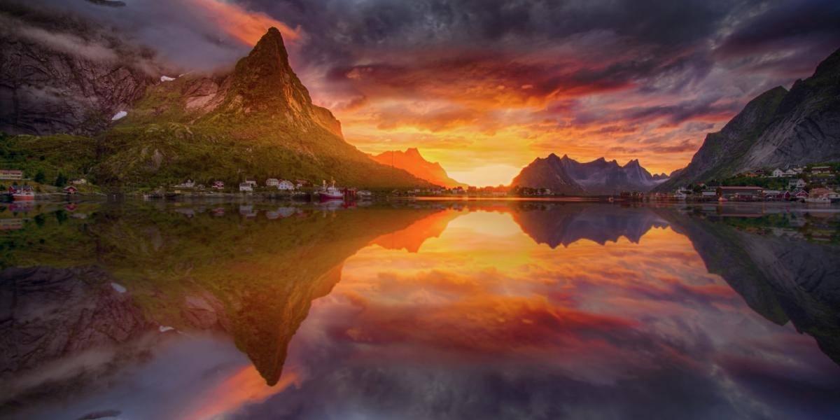Sommar: La isla noruega que quiere eliminar el tiempo