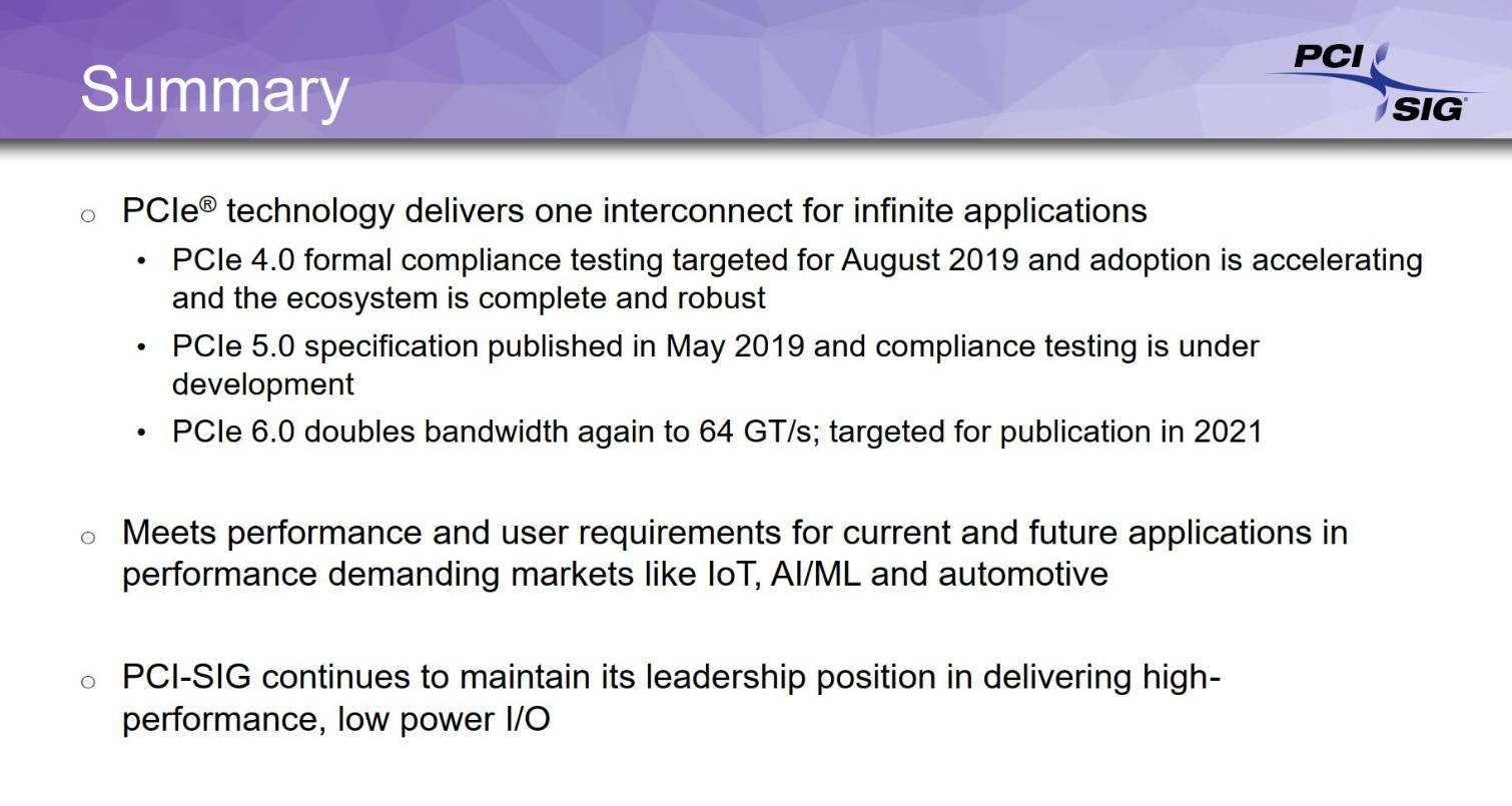 PCI-SIG anunció PCIe 6.0: promete ancho de banda de hasta 256 GBps