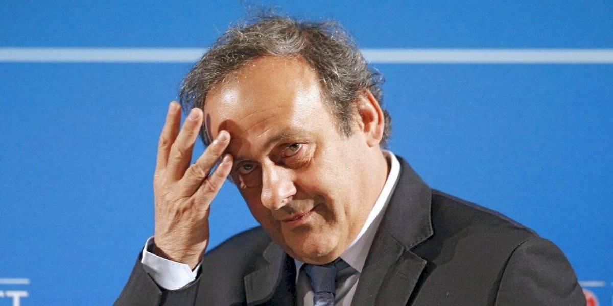 Platini, detenido en investigación por el Mundial de 2022