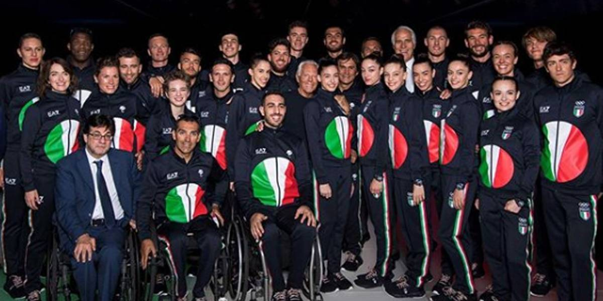 Atletas italianos terão uniforme feito pela grife Armani nas Olimpíadas 2020