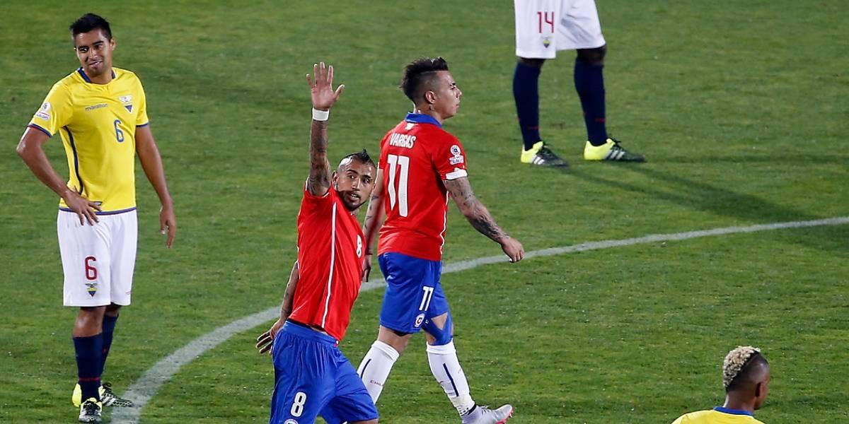 ¿Se repite la historia? Chile ostenta un dominio casi absoluto sobre Ecuador en la Copa América