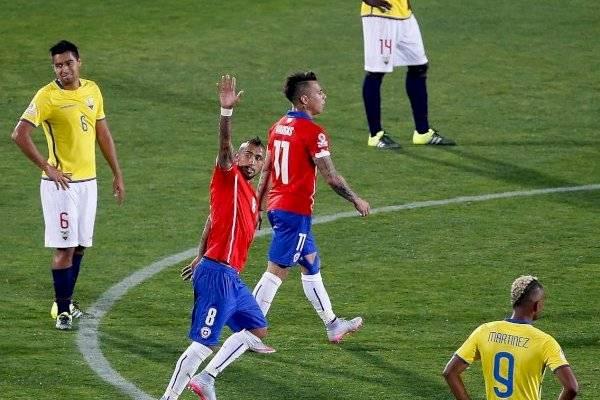 Resultado de imagen para ECUADOR CHILE copa america