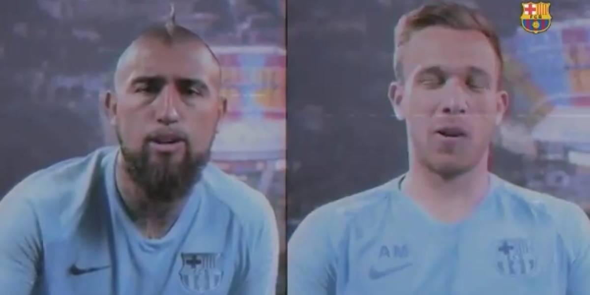 """Vidal perdió el test """"barcelonista"""" de Copa América contra Arthur y """"por culpa"""" de Sergio Livingstone"""