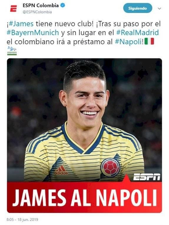ESPN James al Napoli
