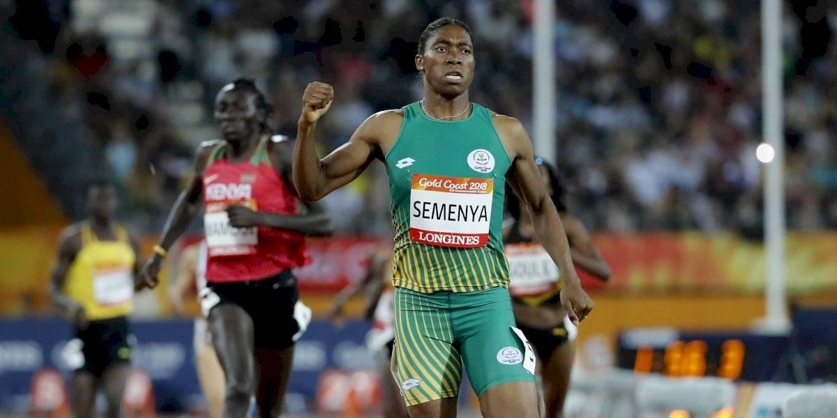 La IAAF alega que Caster Semenya es 'biológicamente un hombre'