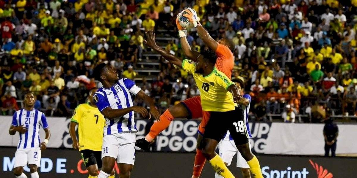 Jamaica sorprende a Honduras en su debut en la Copa Oro