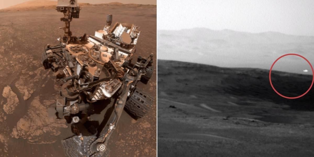 Nasa captura foto de objeto brilhante não identificado no céu de Marte