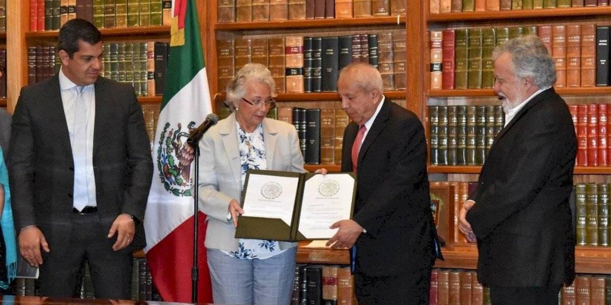 Garduño tendrá un desempeño destacado en el INM: Sánchez Cordero