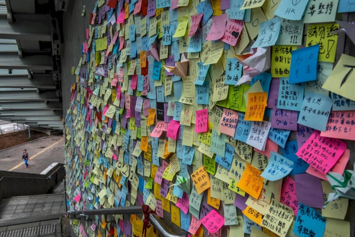 Imágenes de las protestas en Hong Kong Foto: Getty Images