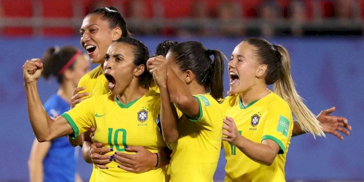 Marta evita fracaso de Brasil en Mundial Femenil con gol histórico