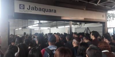 Metrô Jabaquara, linha 1-Azul