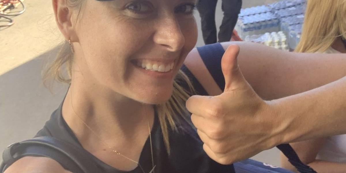 Maria Sharapova tuvo un retorno ganador tras estar cuatro meses lesionada