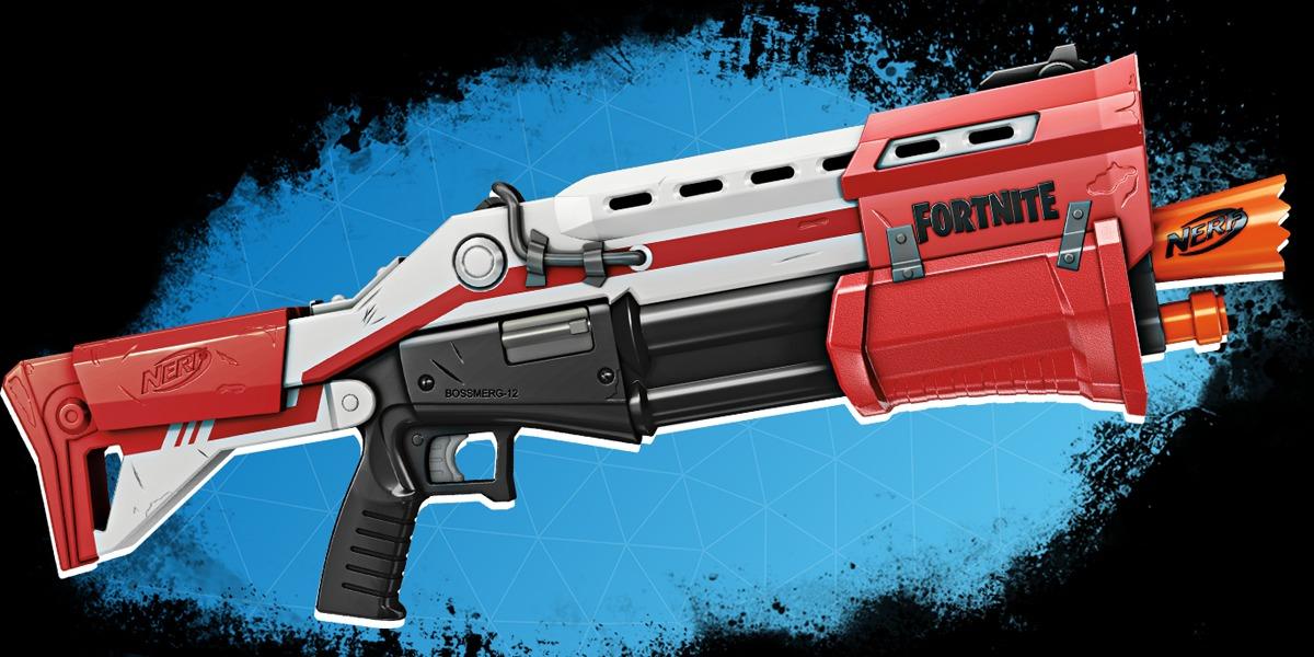Nerf lanza más armas inspiradas en Fortnite