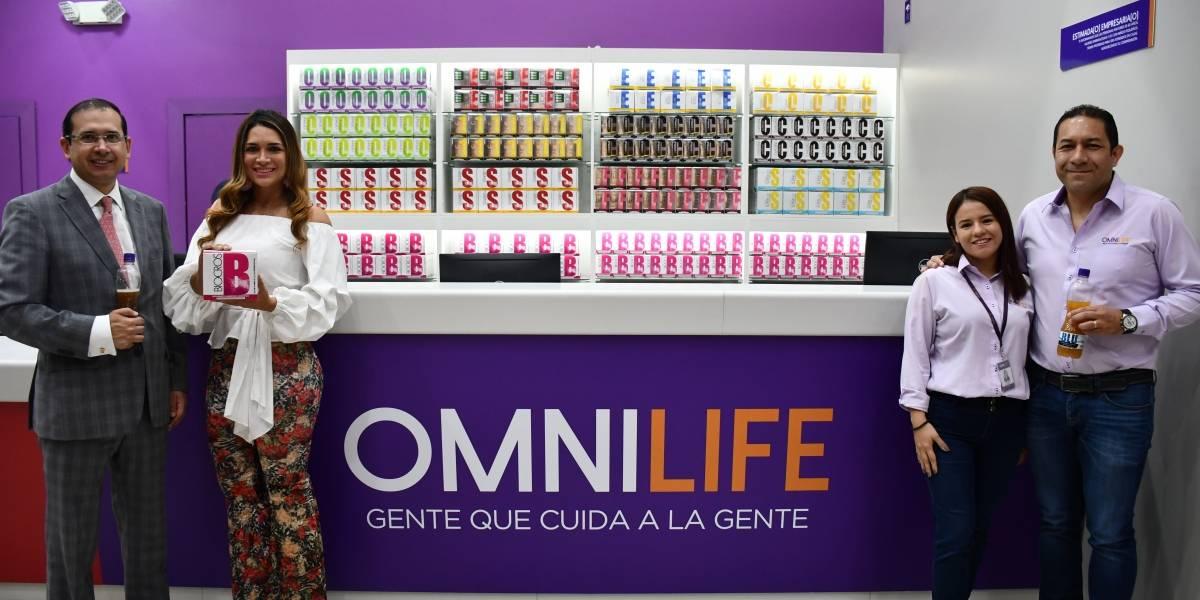 Omnilife abre primer punto de distribución en un centro comercial