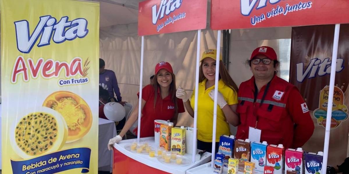 Pasteurizadora Quito S. A. se sumó a la Semana del Poder de la Humanidad