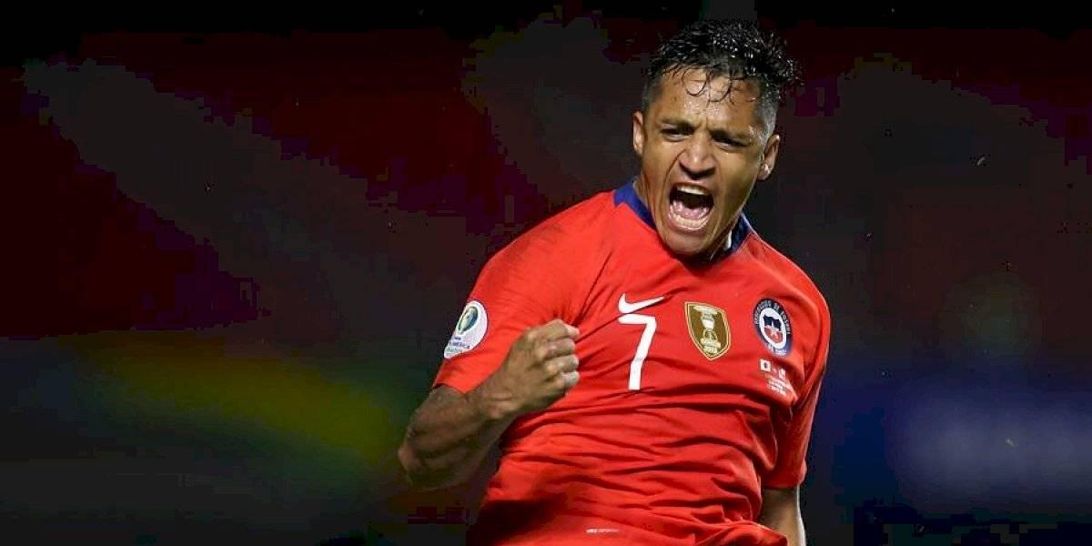 Alexis Sánchez fue nominado a última hora en la Roja y jugará ante Argentina