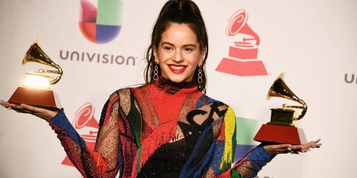 Rosalía es la primera artista española en ser portada de Vogue España