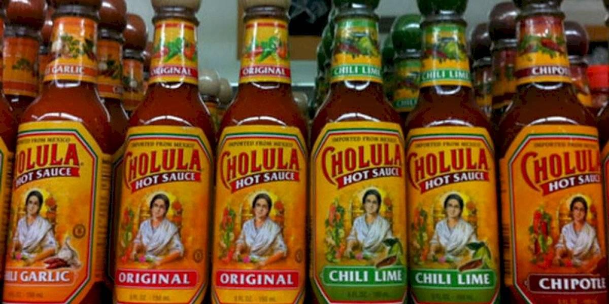 Humo blanco en salsa picante Cholula