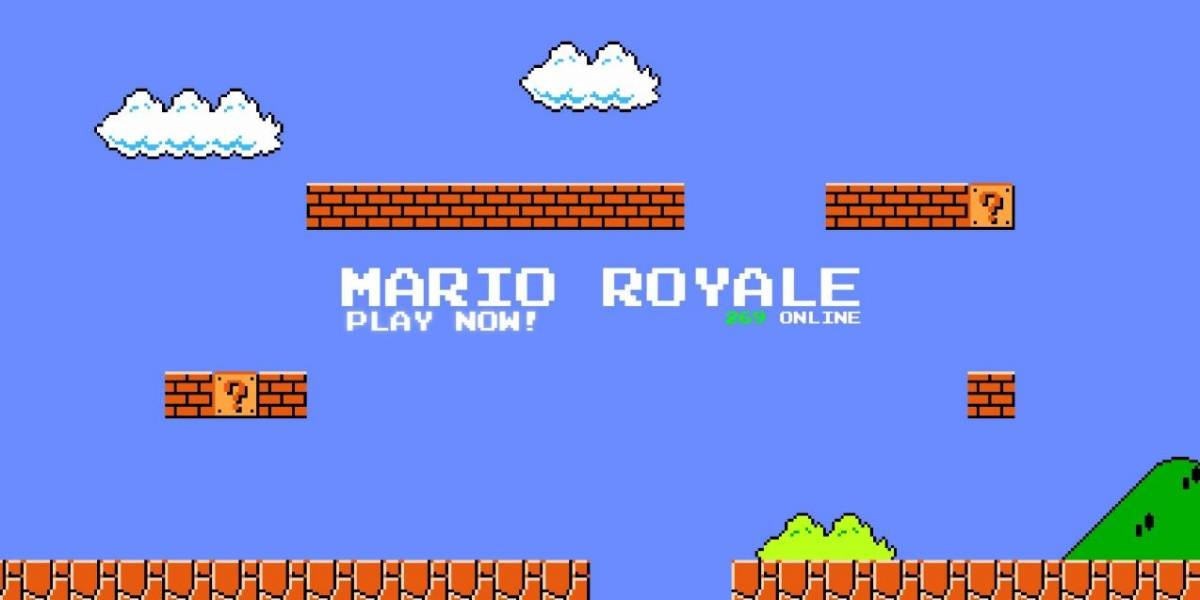 Super Mario Bros. ahora es un Battle Royale totalmente gratuito