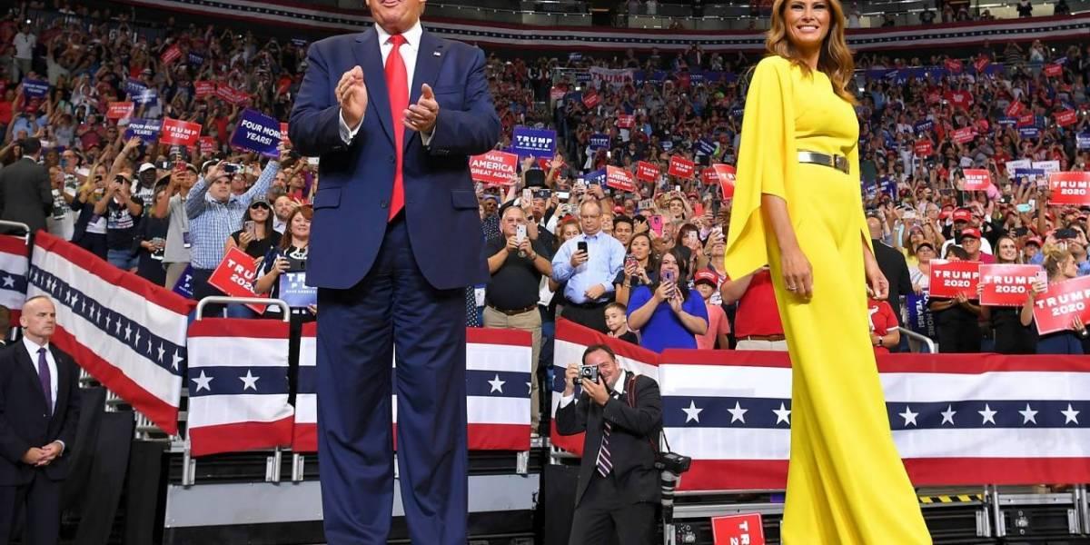 Donald Trump lanzó eufóricamente su campaña para la reelección