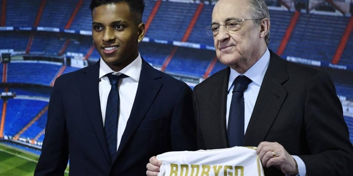 """VIDEO. Así fue la presentación de la nueva """"perla"""" brasileña del Real Madrid"""