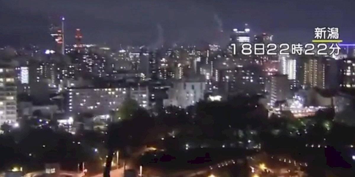 Vídeos: Cámaras captan el momento del fuerte sismo en Japón