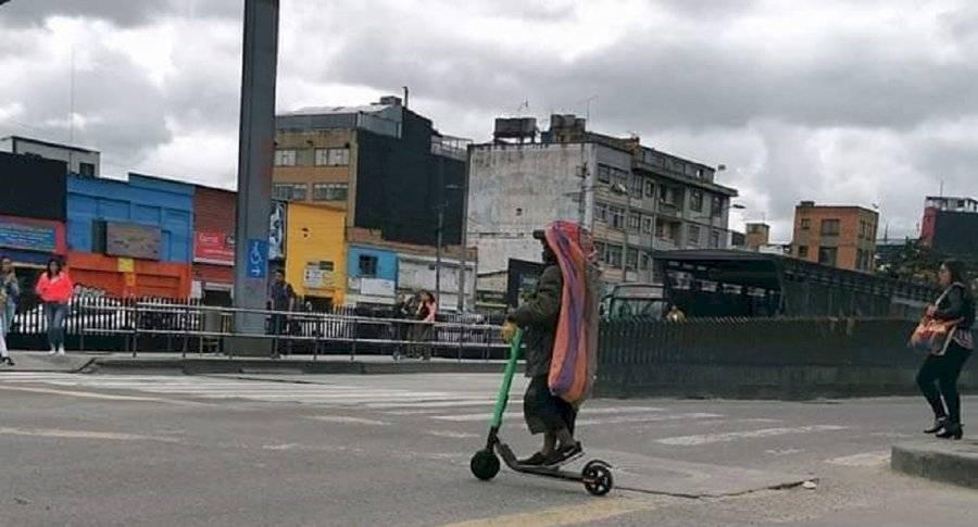 Robo de patinetas eléctricas
