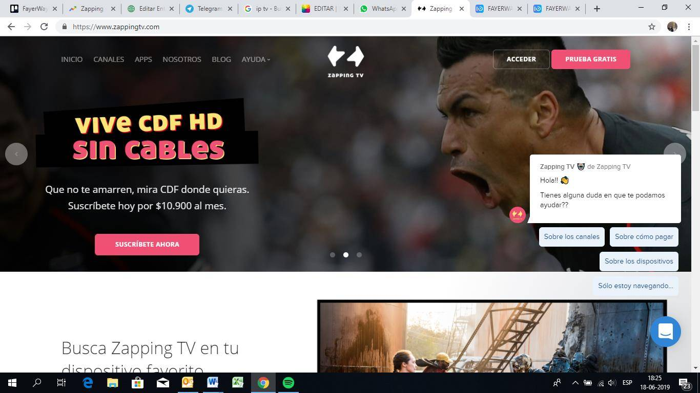 Zapping TV: Conoce al primer cableoperador virtual de televisión vía streaming oriundo de Chile