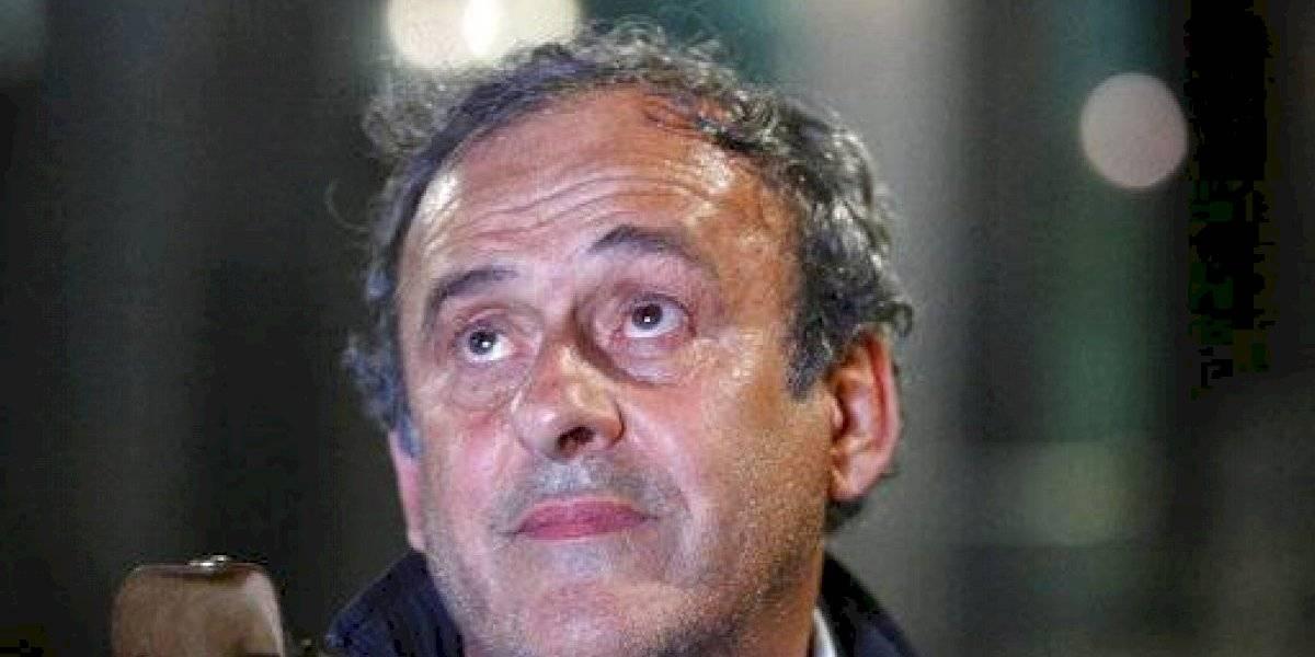 """La defensa de Michel Platini: """"Me siento totalmente ajeno a estos asuntos"""""""