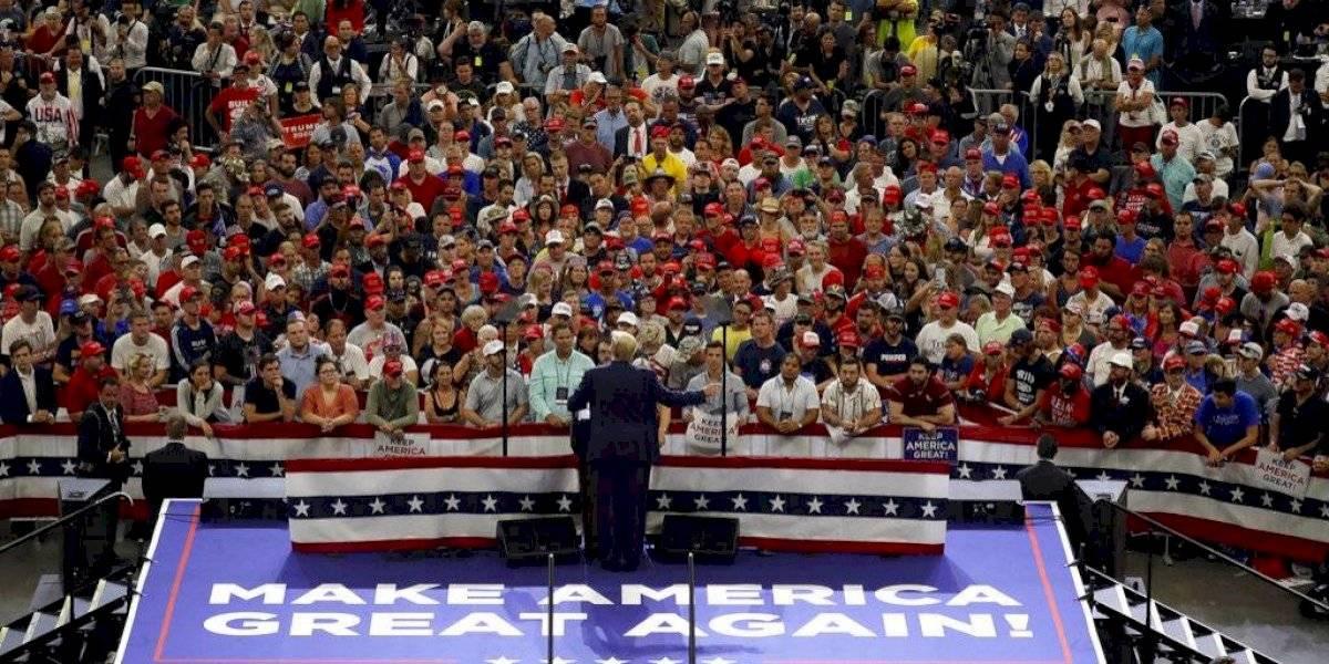 Trump comienza su campaña para las elecciones 2020