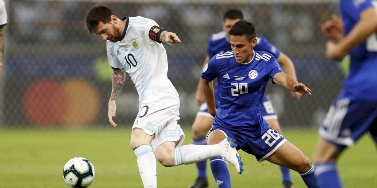 Minuto a minuto: Argentina quiere despegar en la Copa América ante el complicado Paraguay