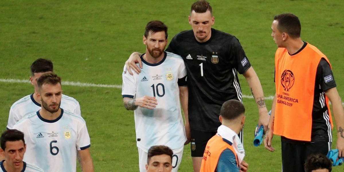 ¡Ni Messi, ni el VAR ni Armani! Parece que nadie puede salvar a la Selección Argentina