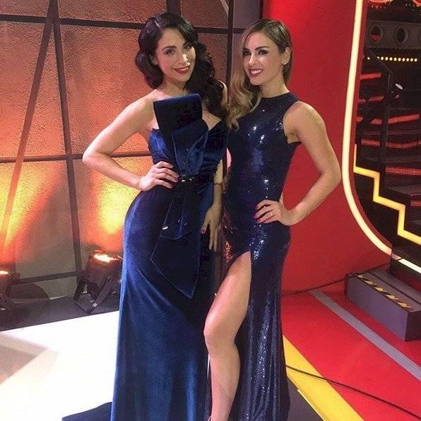 Maura Rivera y Yamna Lobos