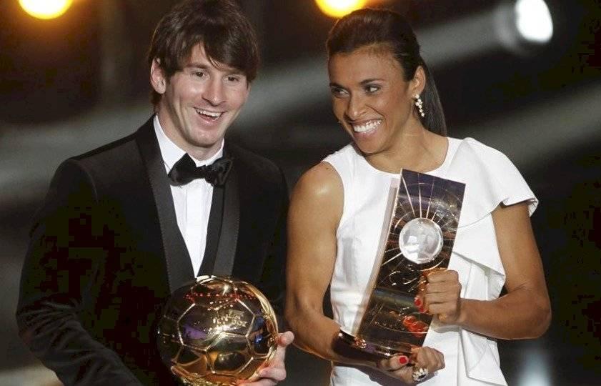 Messi y Marta