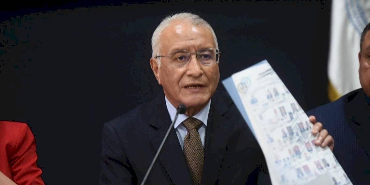"""Presidente del TSE sobre resultados de elecciones: """"Si hay algún error se va a corregir"""""""