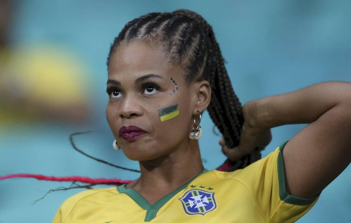 Las chicas bellas se han dado cita en los estadios brasileños |GETTY IMAGES