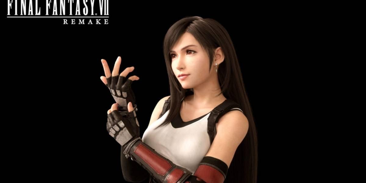 "Comité de ética de Square Enix pidió ""limitar"" el busto de Tifa para el Remake de Final Fantasy VII"
