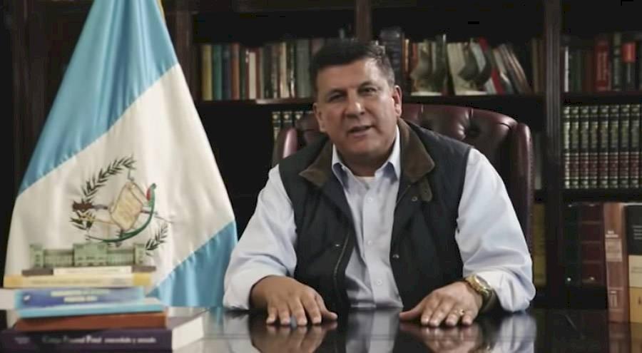 Diputado Estuardo Galdámez. Captura de pantalla