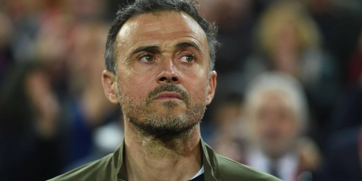 Luis Enrique dejó la banca de la selección de España luego de 11 meses