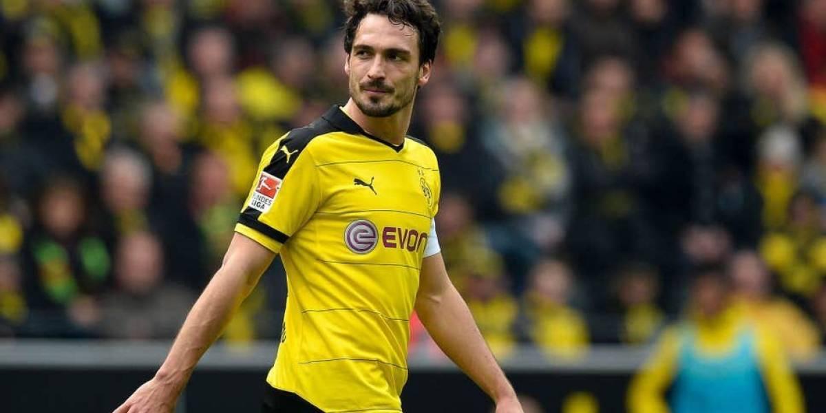 Hummels deja Bayern Múnich y regresa al Borussia Dortmund