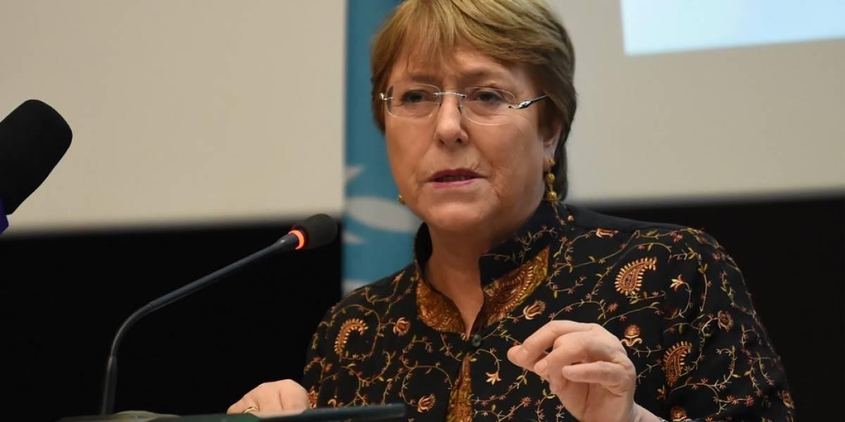 Bachelet pide repatriación de las familias del Estado Islámico