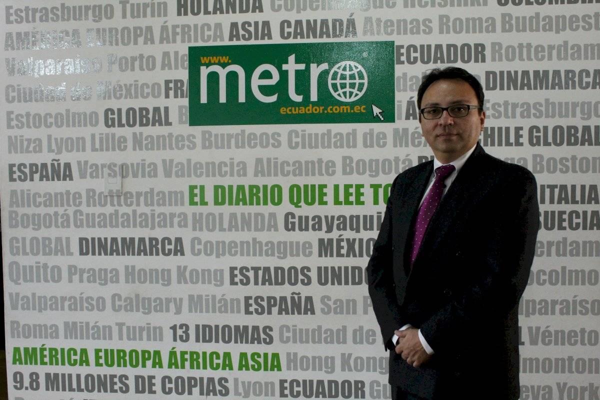 JXvier Oviedo, Director de Marketing de la UDLA