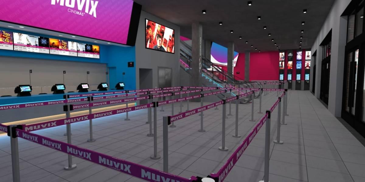 Muvix: El nuevo cine que debuta en Santiago y que promete alta tecnología