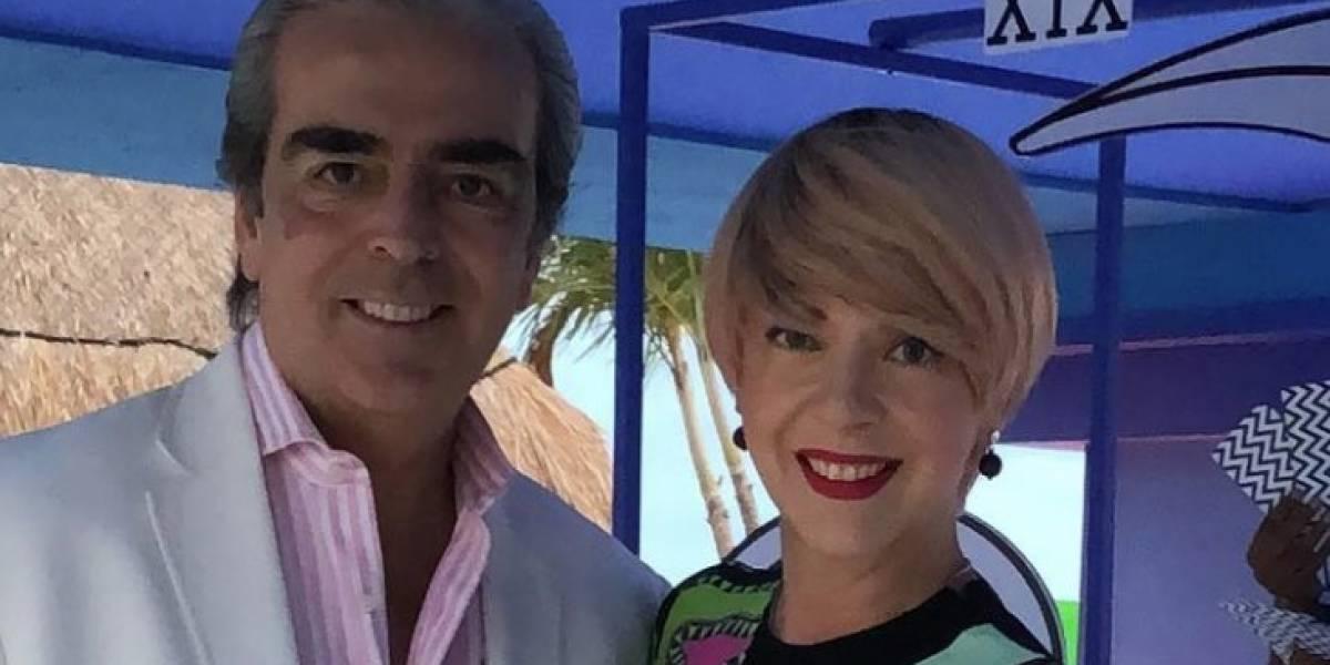Periodista se disculpa tras decir que viudo de Edith González tenía cáncer