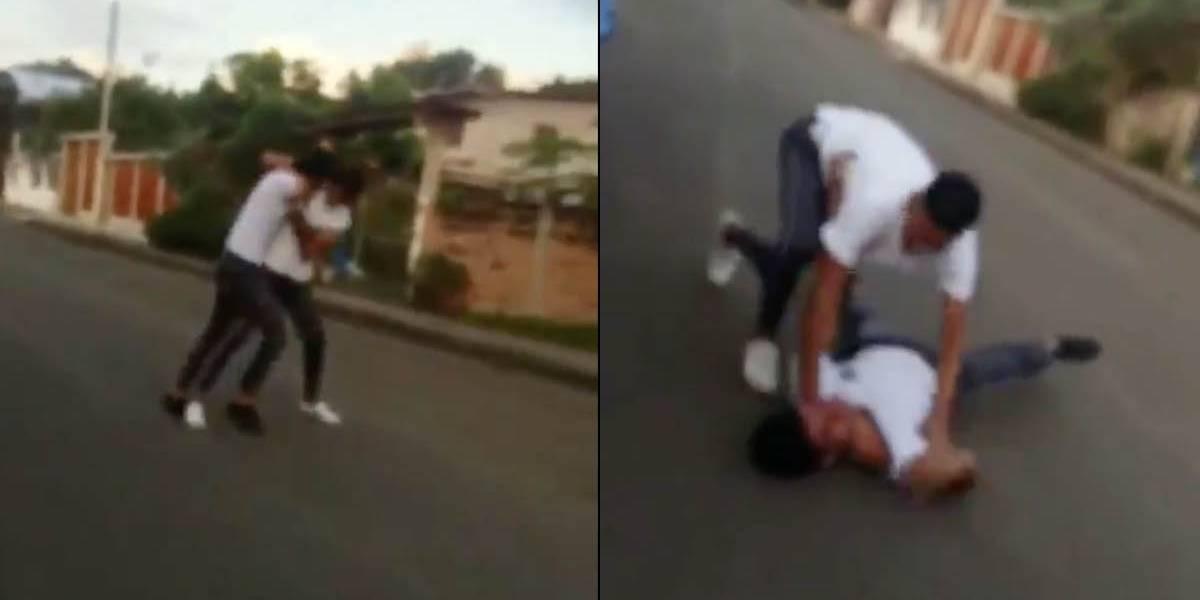 Ministerio de Educación se pronuncia ante video de pelea entre estudiantes en Manabí
