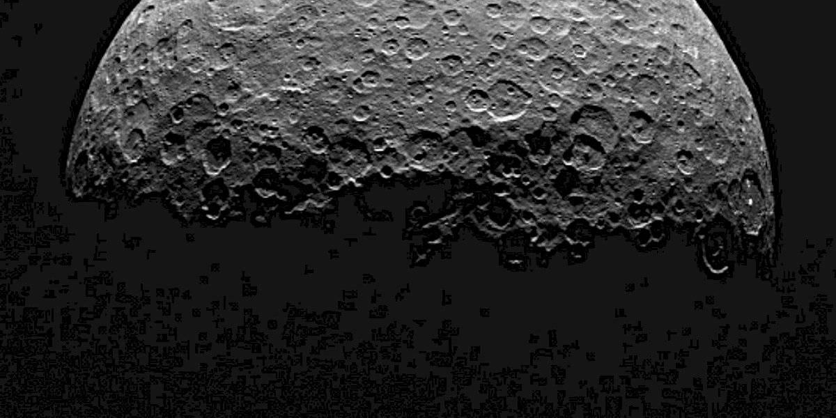 """""""La humanidad jamás ha visto algo así"""": NASA revela impresionante imagen tras hallazgo de volcán de hielo en el asteroide más enorme del Sistema Solar"""